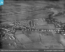 Aerial view of Curzon Park in 1931.  For more views of the area visit  www.britainfromabove.org.uk