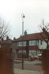 1988 Old Lamppost outside 45 PRW 40 and 42 opp printed 03 83