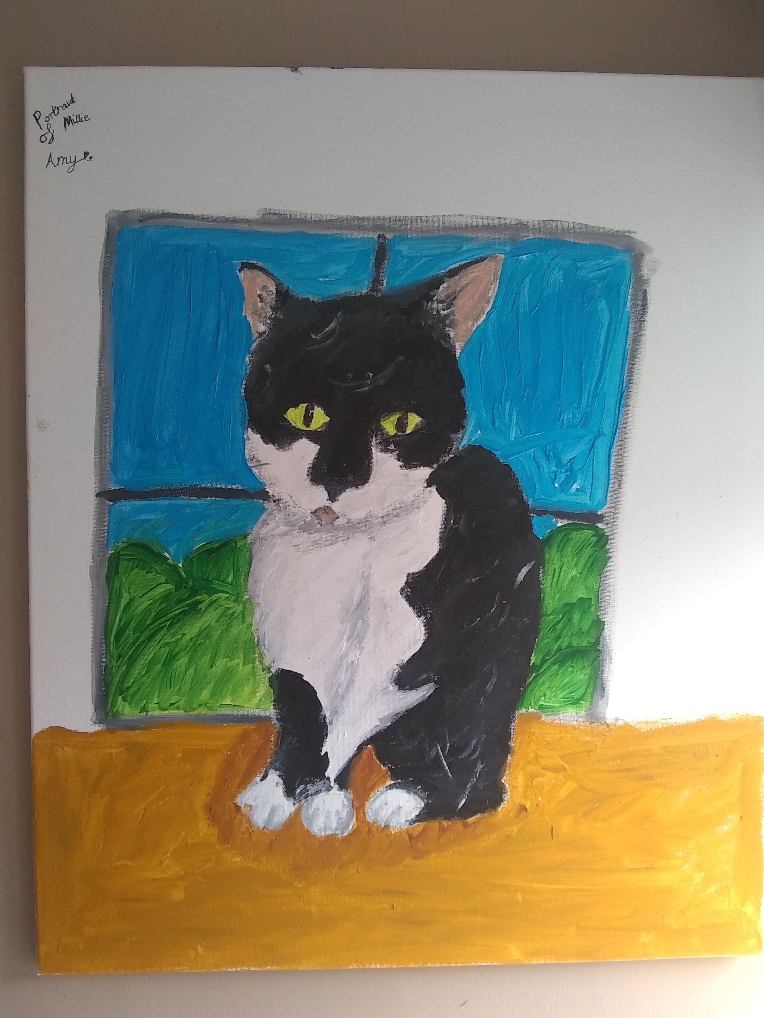 Millie Cat by Amy Hunt age 11